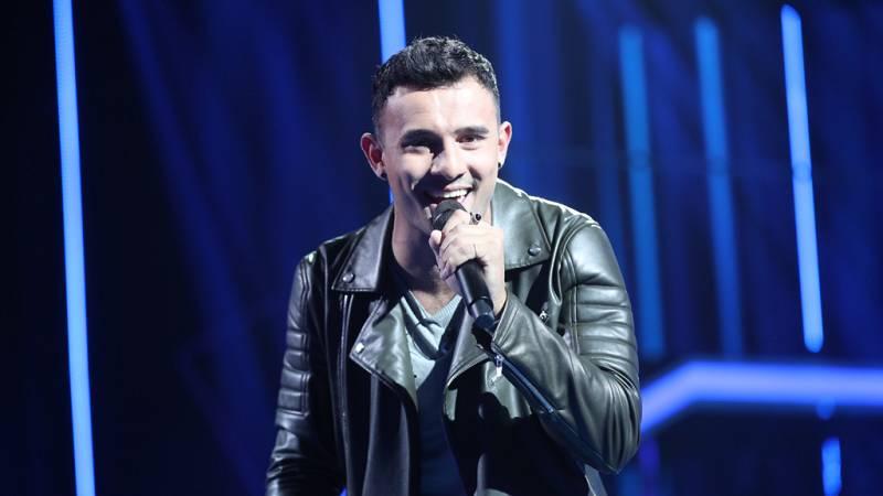 Joao canta 'Stand by me' en la gala 0 de Operación Triunfo