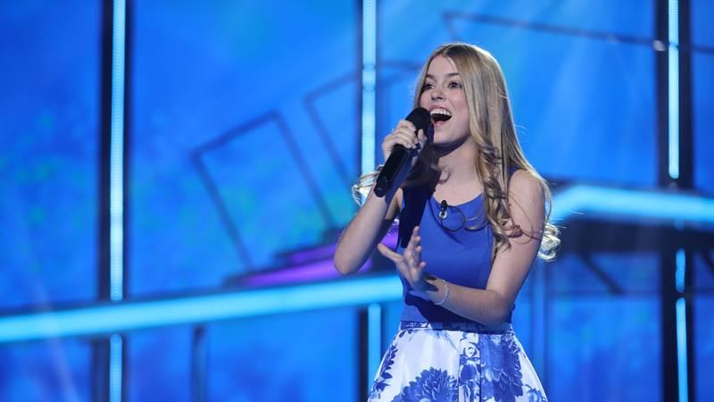 Nerea canta 'Qué hay más allá' en la gala 0 de Operación Triunfo