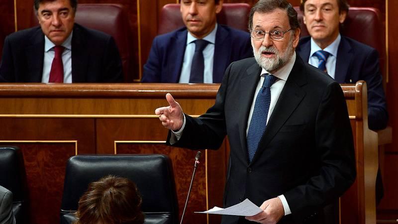 """Desafío independentista en Cataluña - Rajoy: """"No hay más salida que las elecciones"""""""