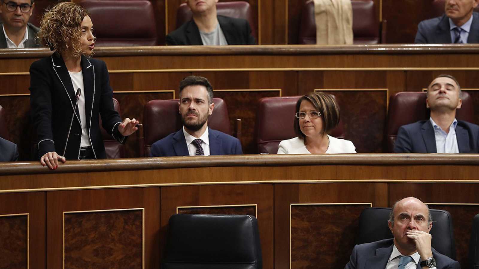 Cataluña | Artículo 155: Batet (PSOE) pide en el Congreso y en catalán que Puigdemont convoque elecciones