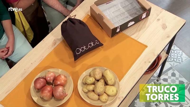 Trucos de cocina - Cómo conservar bien las patatas en casa