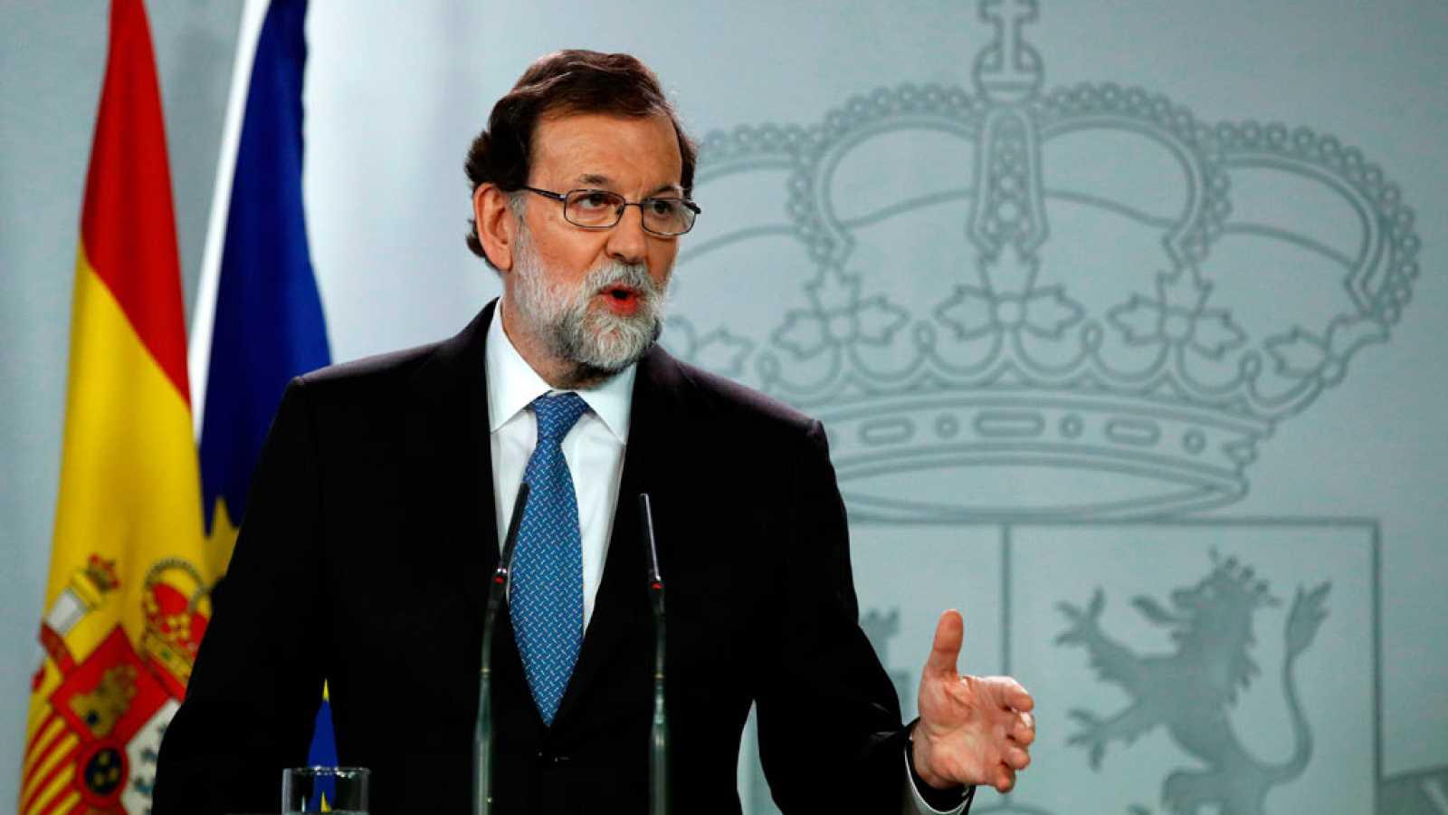 Rajoy cesa al Govern y convoca elecciones en Cataluña el 21 de diciembre