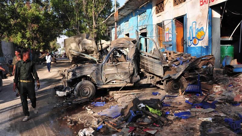 Doble atentado terrorista en Mogadiscio, la capital de Somalia