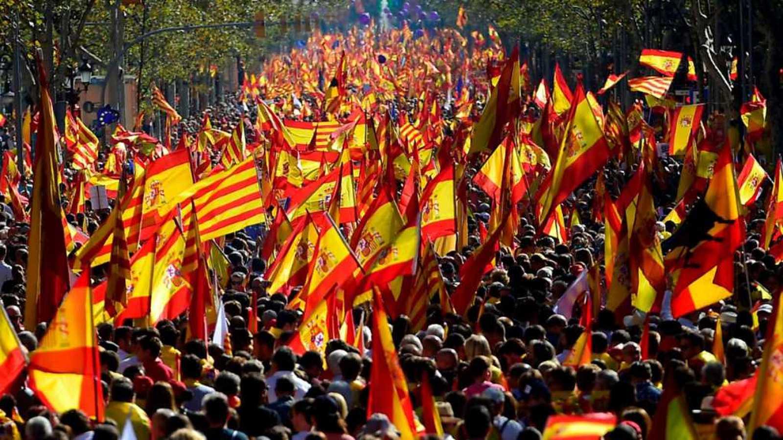 Especiales informativos - Manifestación en Barcelona - 29/10/17 - ver ahora