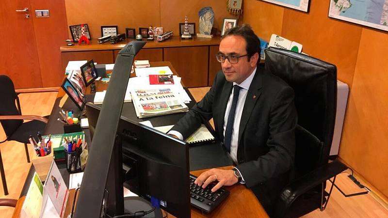 Rull, el único consejero del Govern que acude a su despacho tras la aplicación del 155