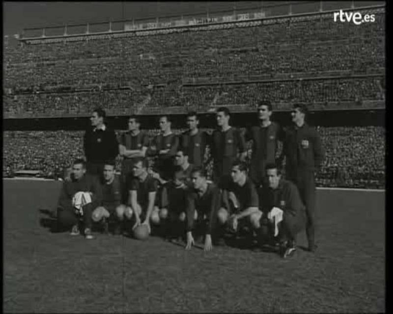 En 1959, la primera trasmisión desde Madrid a Barcelona: el partido más importante de la liga