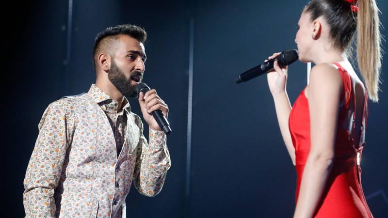Operación Triunfo - Mireya y Juan Antonio cantan '¡Corre!' en la gala 1 de OT