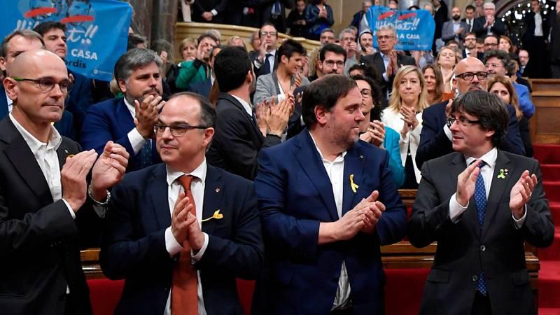 La Audiencia cita a Puigdemont y sus exconsellers el jueves y viernes para declarar por rebelión