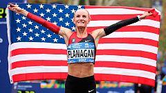 Shalane Flanagan, primera estadounidense en 40 años que gana en Nueva York