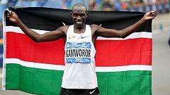 Geoffrey Kamworor gana el maratón de Nueva York