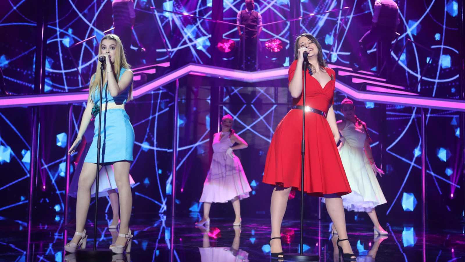 Operación Triunfo - Nerea y Thalía cantan 'Will you still love me tomorrow?' en la gala 2