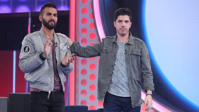 Operación Triunfo - Roi y Juan Antonio, los nominados en la gala 2