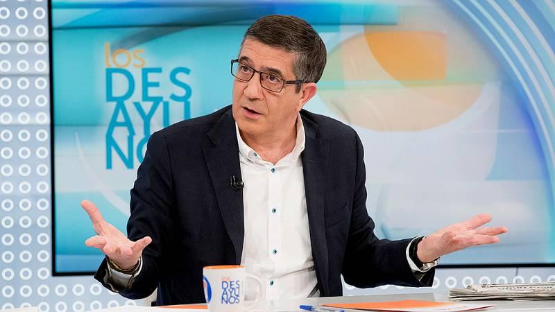 Patxi López critica que Podemos no quiera participar en la comisión para la reforma constitucional