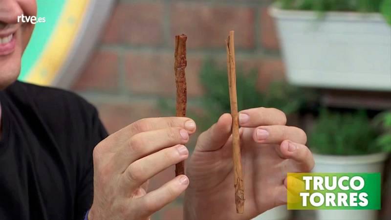 Trucos de cocina - Cómo hacer un trampantojo de falsa canela