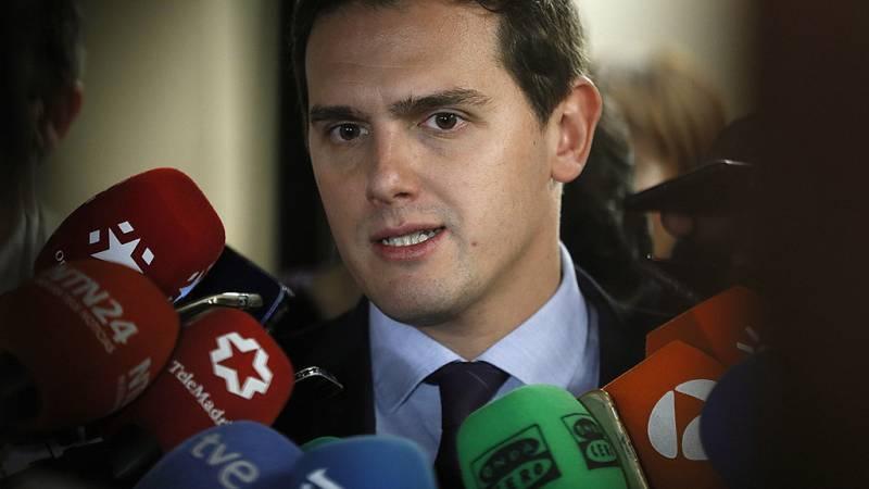 """Rivera: """"Los ciudadanos están valorando una posición nítida y clara de Cs en Cataluña"""""""