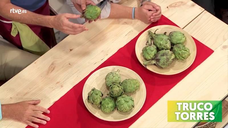Trucos de cocina - Cómo saber reconocer si las alcachofas están frescas y recién cogidas
