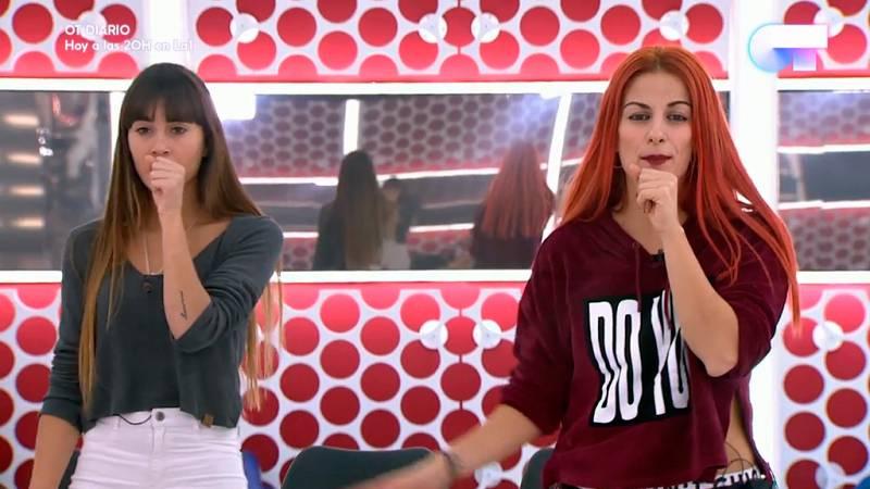 Operación Triunfo - Aitana ensaya con Vicky los primeros pasos para su actuación