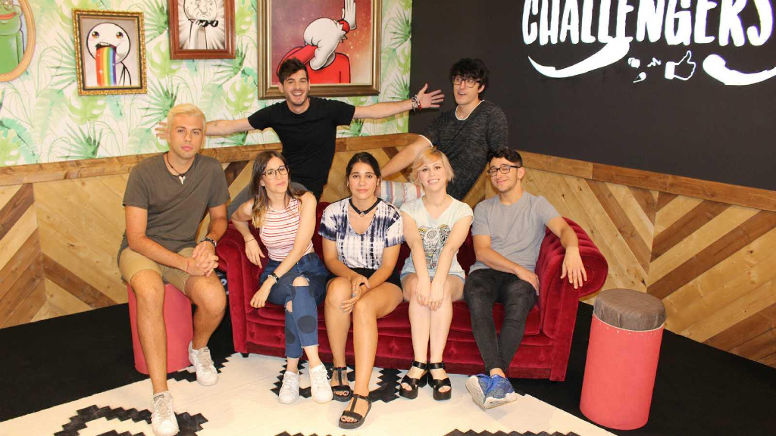 The Challengers -  Luna, Zeus, Herrejón, Sara, Spursito y Sive se mojan: ¿por qué han decidido participar en 'The Challengers'?