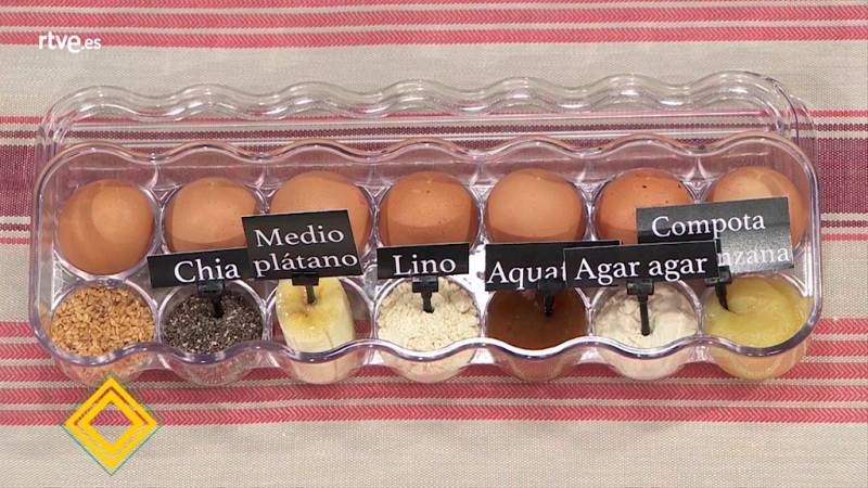 Trucos de cocina - Conocemos las equivalencias del huevo con otros alimentos