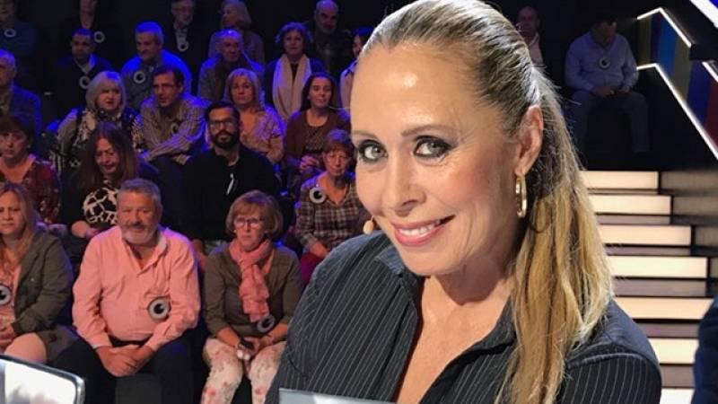 Miriam Díaz-Aroca se emociona con la historia de amor de Chiquito de la Calzada
