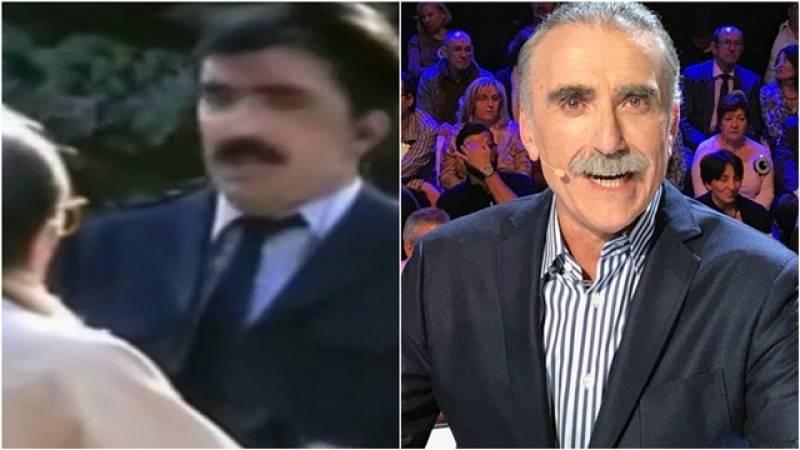 Juan y Medio recuerda su primera aparición en televisión