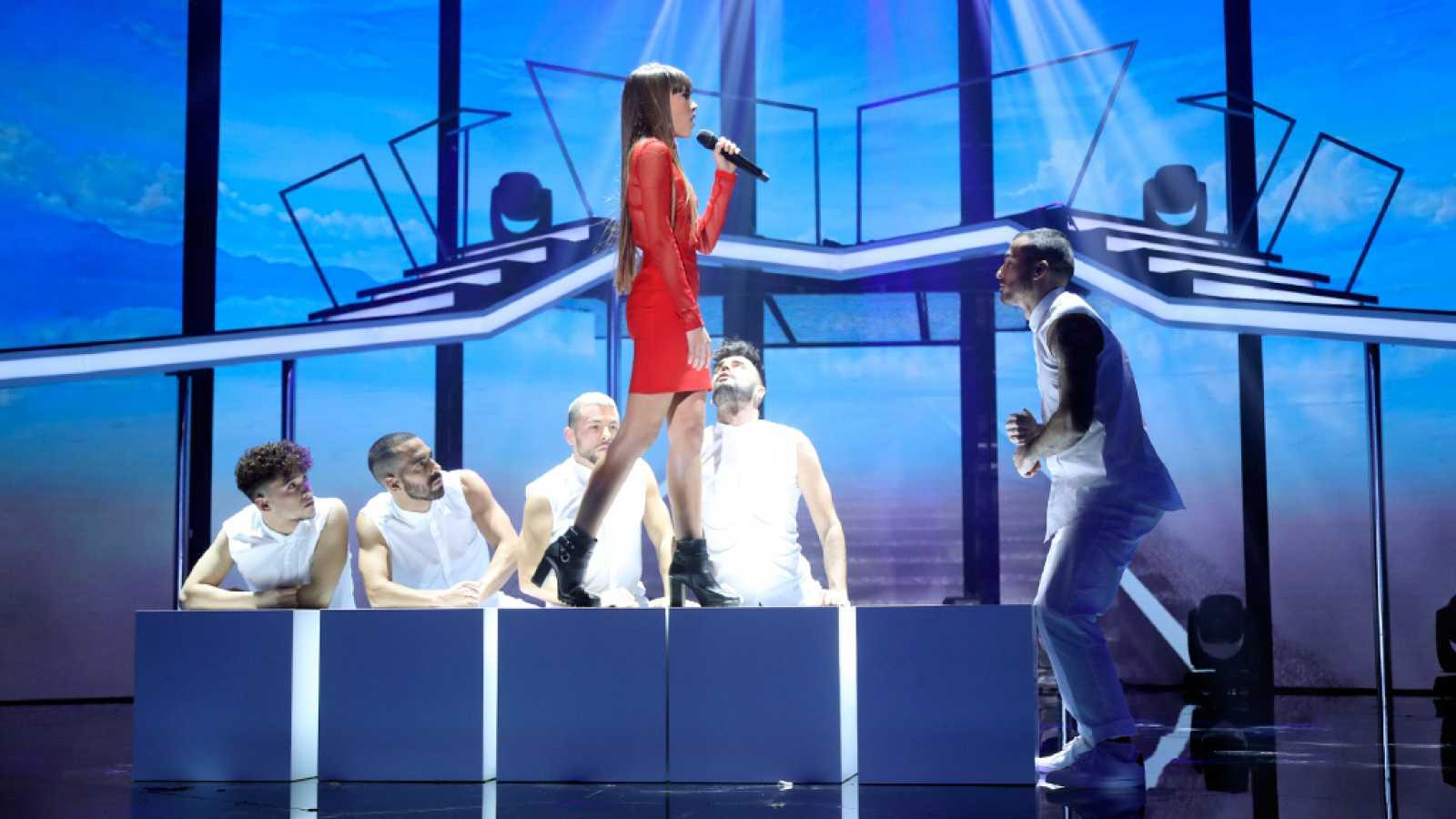 Operación Triunfo - Aitana canta sola 'Issues'