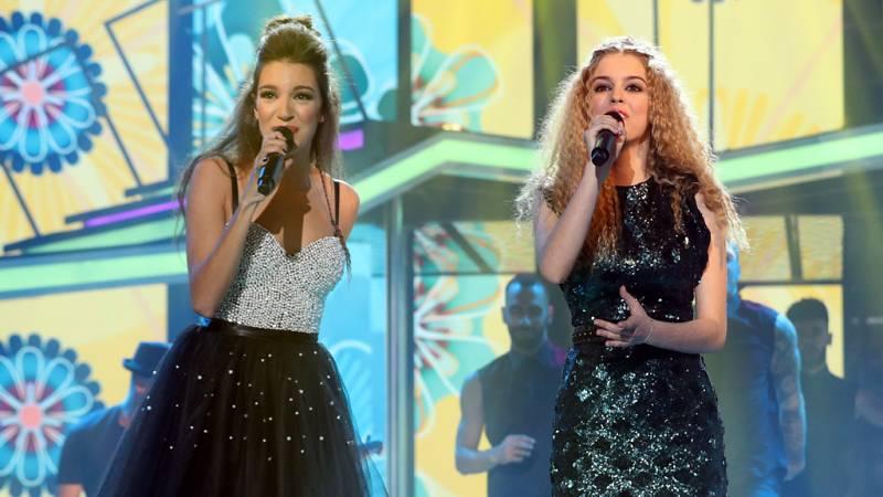 Operación Triunfo - Nerea y Ana Guerra cantan 'Cuídate'