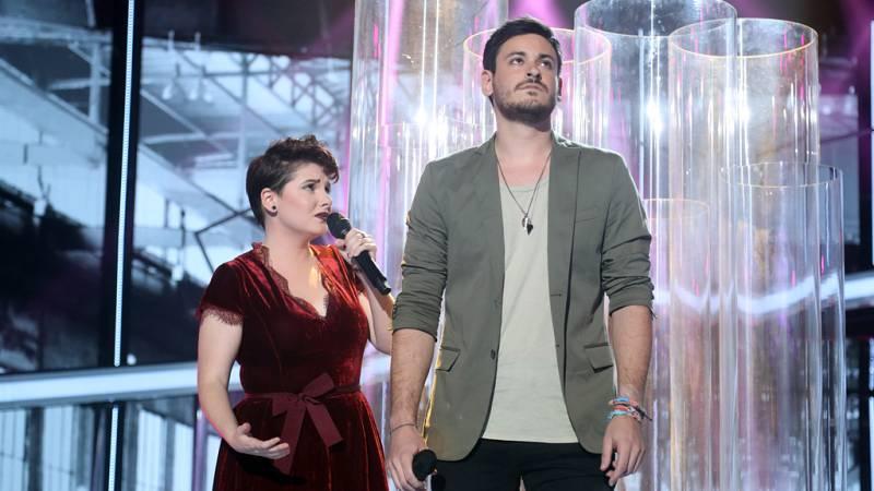 Operación Triunfo - Marina y Cepeda cantan 'Complicidad'