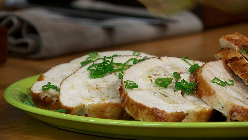 redondo de pavo relleno de jamon y queso