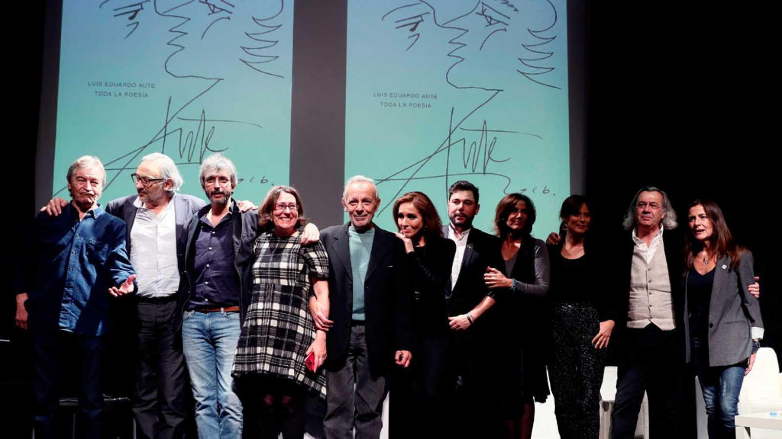 Artistas homenajean a Luis Eduardo Aute coincidiendo con la presentación de su obra poética