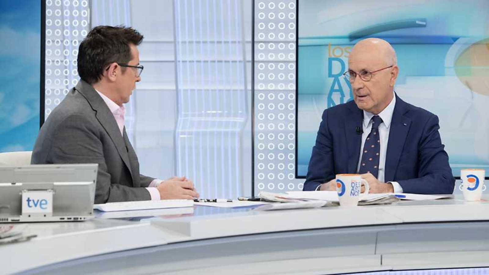 Los desayunos de TVE - Josep Antoni Duran i Lleida, expresidente de Unió Democràtica de Catalunya - ver ahora