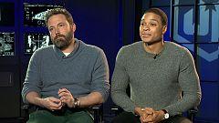 De película - Ben Affleck y Ray Fisher nos hablan de 'La Liga de la Justicia'