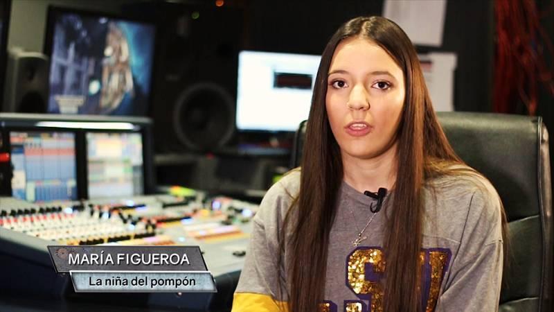 ¿Os acordáis de la niña de la canción del 'Pompón? Ayer nos visitó Maria Figueroa en 'Hora Punta'