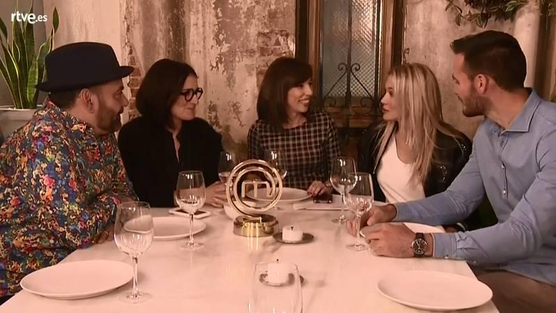 Vuelve a ver el encuentro con los cuatro finalistas de MasterChef Celebrity