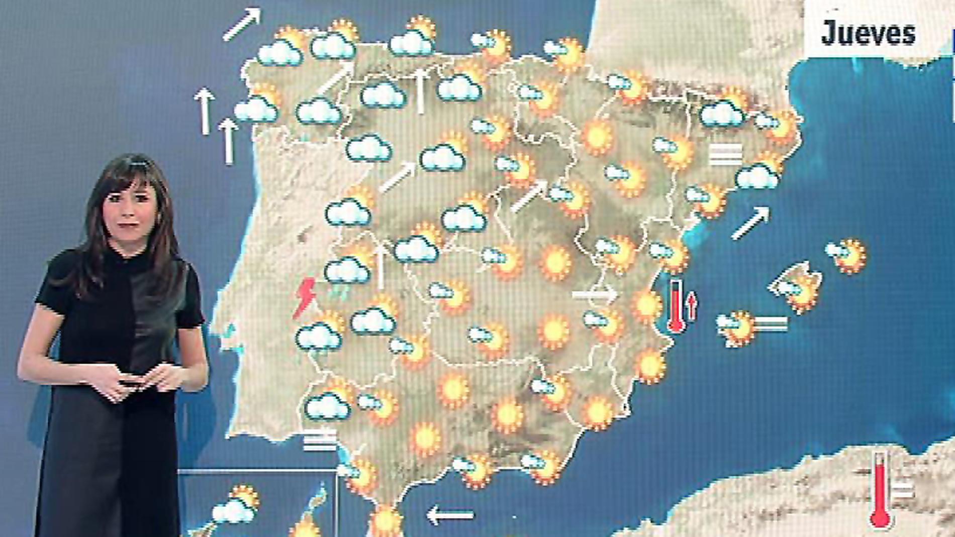 Mapa Del Tiempo España Fin De Semana.Llegan Las Lluvias Este Viernes Y El Fin De Semana