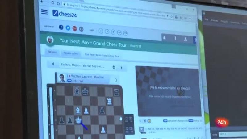 Pepe Cuenca es locutor en la web Chess24
