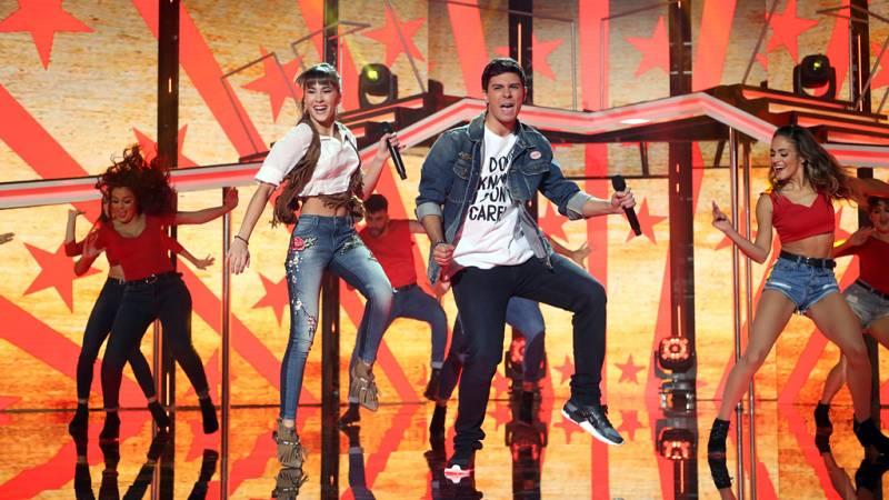 Operación Triunfo - Alfred y Aitana cantan 'El mismo sol' en la Gala 5 de OT