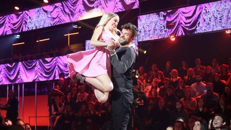 Operación Triunfo - Nerea y Ricky cantan 'The time of my life', de Dirty Dancing, en la Gala 5 de OT