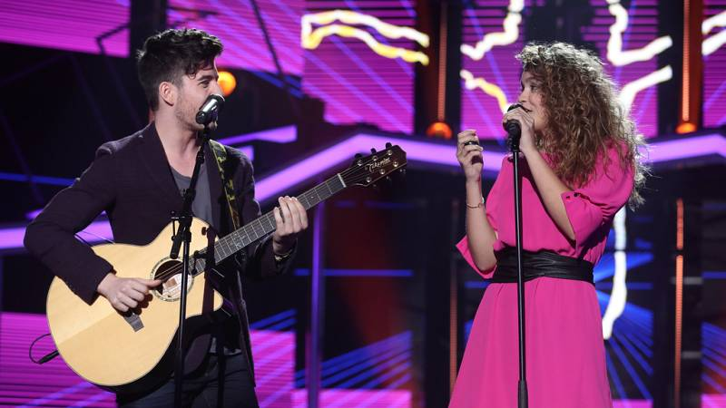 Operación Triunfo - Amaia y Roi cantan 'Shape of you' en la Gala 5 de OT