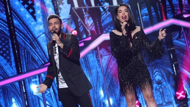 Operación Triunfo - Agoney canta con Beatriz Luengo 'Más que suerte' en la gala 5 de OT