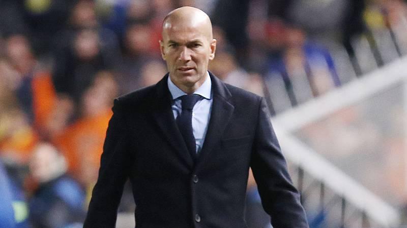 """Zidane: """"Estoy contento. Lo importante es que pasamos la eliminatoria"""""""