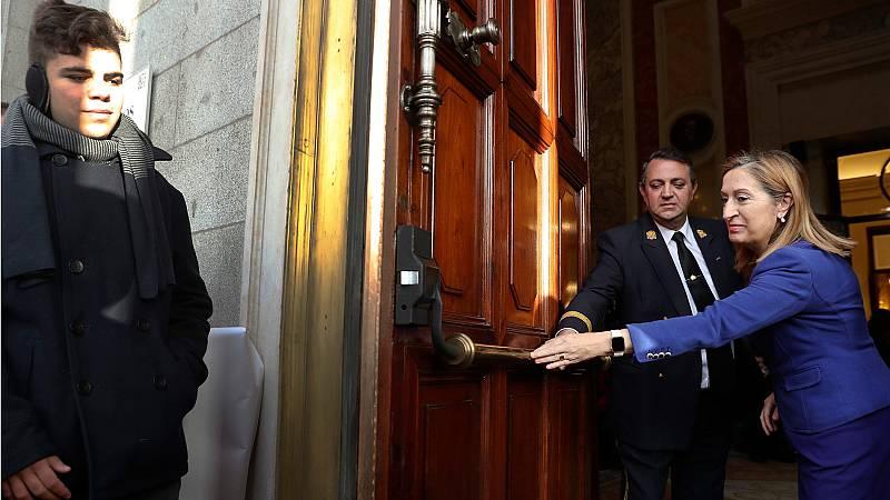 El Congreso abre sus puertas a los ciudadanos en el 39 cumpleaños de la Constitución Española