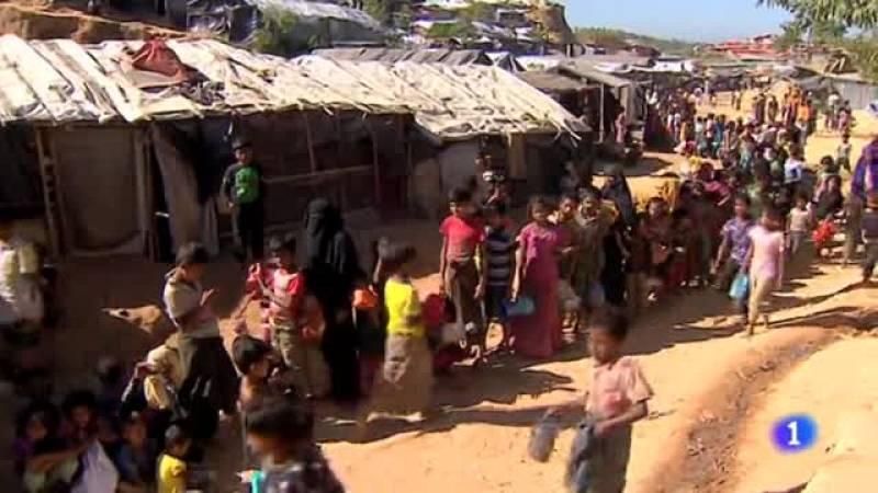 Más de 60.000 rohinyás sobreviven en campamentos de refugiados en Bangladés