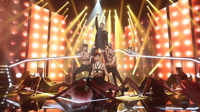 Operación Triunfo - Ricky canta 'Let me entertain you' para no ser expulsado de OT
