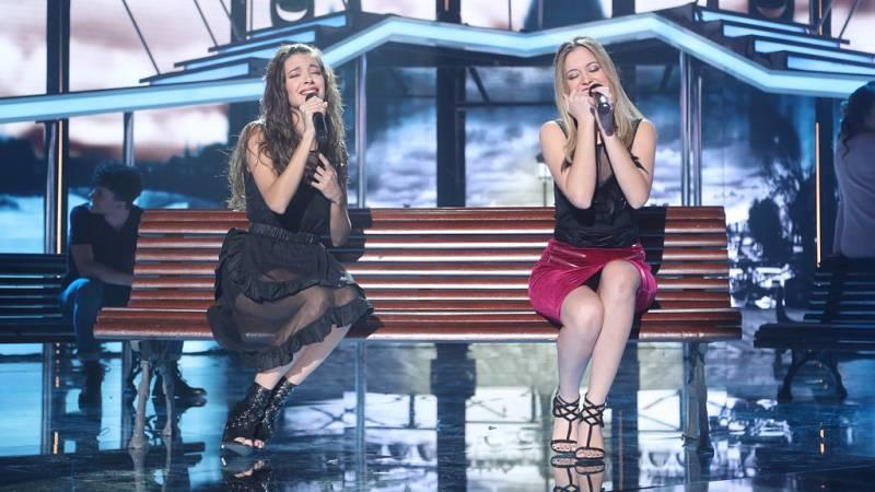 Operación Triunfo - Mireya y Ana Guerra cantan 'Comiéndote a besos' en la Gala 6 de OT