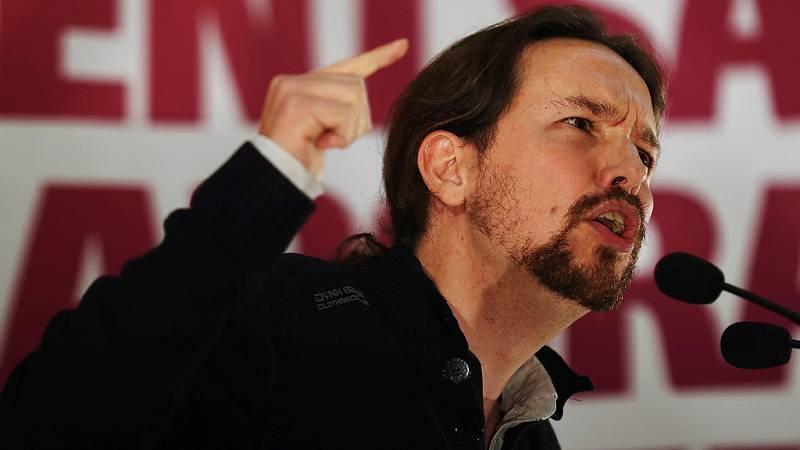 """Iglesias y Domènech aseguran que la única salida para Cataluña es un """"gobierno de reconciliación"""""""