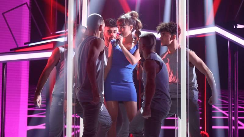 Operación Triunfo - Aitana canta 'New rules' de Dua Lipa en la Gala 7 de OT