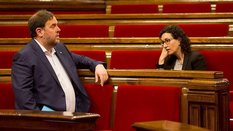 ERC señaló en una reunión que hacer un referéndum unilateral no tenía sentido porque ya lo habían hecho el 9N