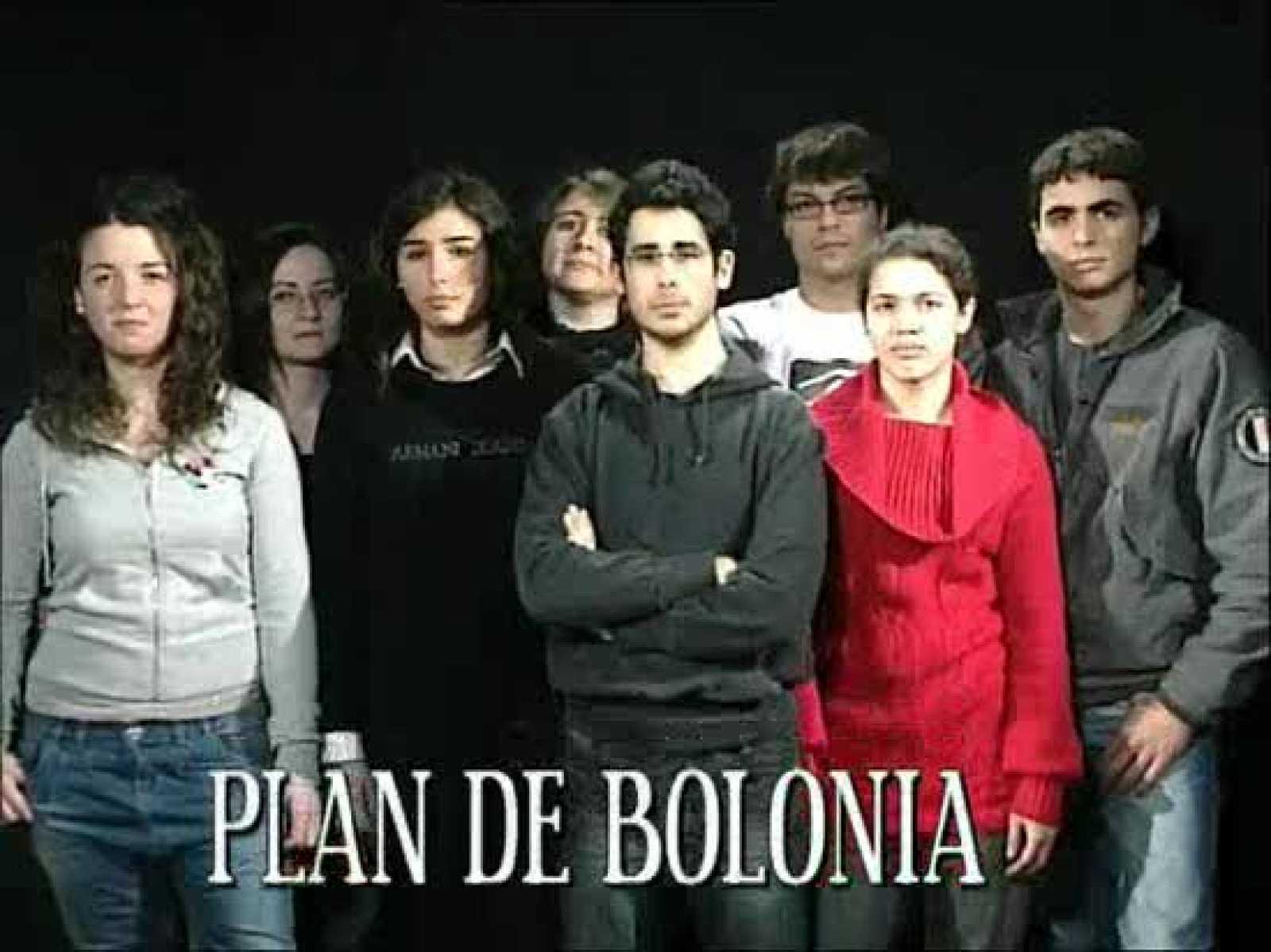 Alumnos de comunicación de IE University, que ya estan dentro del plan de Bolonia, preguntan a sus compañeros que opinan sobre Bolonia y cómo imaginan la universidad del futuro.