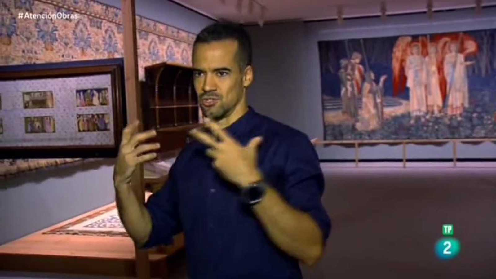 Atención obras - Diego Apesteguia nos acerca al arte de William Morris